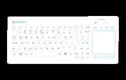 Touchpad medisch toetsenbord van Purekeys